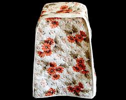 quilted kitchen appliance covers vintage blender dust cover small appliance cover quilted