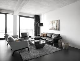 be simple yet modern with these black and white living room sets