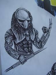 predator movie tattoo predator tattoos pinterest bio och