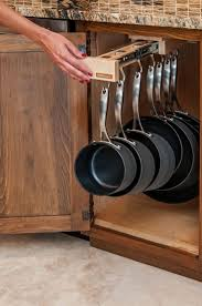 organization small kitchen pots and pans storage best small
