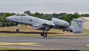 Fairchild 81 0956 Usa Air Force Fairchild A 10 Thunderbolt Ii All