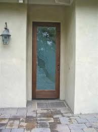 Glass Exterior Door Frosted Glass Front Door For Classic Modern Style Rooms Decor