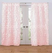 Wonderful Light Pink Ruffle Curtains And Light Pink Ruffle Curtains