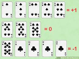 Blackjack How To Count Cards How To Win At Blackjack With Sheets Wikihow