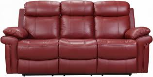 Red Leather Chair Shae Joplin Red Leather Power Reclining Sofa From Luxe Leather