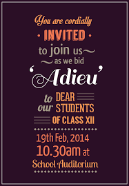 farewell party invitation adieu farewell invite on behance