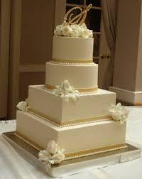 wedding cake gold beautiful wedding cakes for gold wedding cake monogram