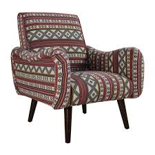 75 off aztec pattern accent armchair chairs