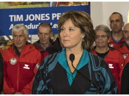 Christy Clark Cabinet B C Premier Christy Clark No Longer Receiving Stipend From Party