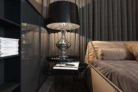 Interior Luxury by Three Luxurious Apartments With Dark Modern Interiors