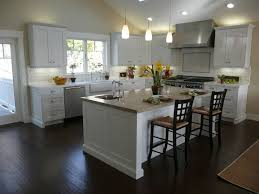 small kitchen ideas with island kitchen gorgeous l shaped white cabinetry feat chrome colored