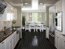 galley kitchen layouts ideas galley kitchen layout with kitchen cabinet and dining table and wall