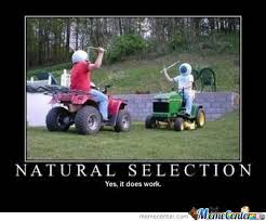 natural selection by recyclebin meme center