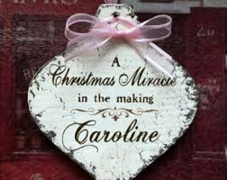 christmas ornament new baby ornaments pregnancy 2017