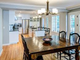 Kitchen Dining Room Remodel Open Kitchen Wall To Dining Room Room Image And Wallper 2017
