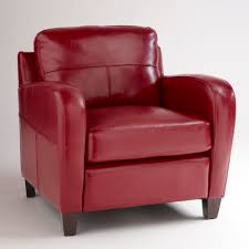 Best Leather Armchair Best Red Leather Armchair 25 In Sofa Table Ideas With Red Leather