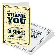 business greeting cards from nisa including business thank you