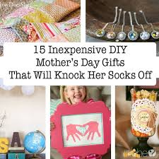 mothers gifts 15 inexpensive diy s day gifts