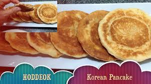 cuisine pancake hoddeok or hotteok 호떡 pancake food