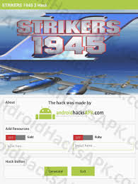 strikers 1945 apk strikers 1945 2 hack apk gold and ruby