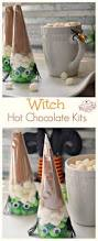 At Home Halloween Party Ideas by Fun And Easy Witch Chocolate Kit Idea For A Kid U0027s Halloween