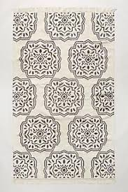 Geometrical Rugs Herald Geometrical Black White Area Rug