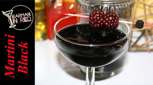 red martini how to make a black martini youtube