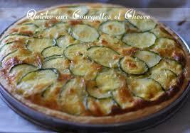 cuisine courgettes quiche aux courgettes et chevre recette la courgette