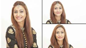 hairstyles for foreheads that stick out on a woman how to wear a maang tikka 3 trendy ways youtube