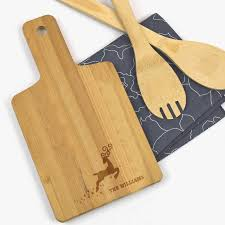 wooden personalized gifts personalized gifts reindeer wooden serving board shop now