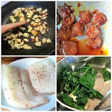 stacey snacks what u0027s for dinner cod w chorizo u0026 kale
