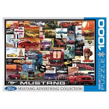 ford mustang ads vintage car ads ford mustang 1000 pc puzzle target