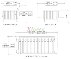 size futon dimensions of size futon architecture options