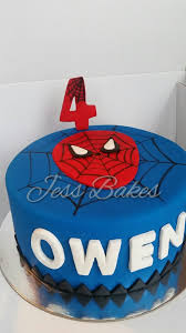 spiderman jess bakes