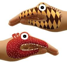 hand tatoo image monster hand tattoo sets monster hands uncommongoods