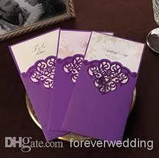 Wedding Invitations Purple Free Printable Wedding Invitations Purple Fashion High Grade