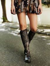 s lace up boots size 9 bed stu surrey caramel lace up knee high leather boots size 10
