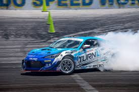 subaru drift car round 8 finale of the formula drift championship leads to wild