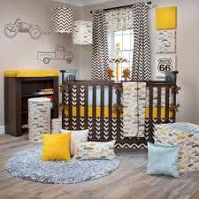 Sweet Potato Crib Bedding Buy Traffic Jam Crib Bedding Sweet Potato Chevron Crib Set For
