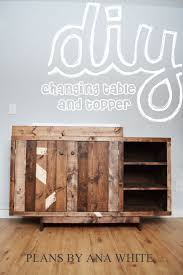 Wood Changing Table White Emerson Changing Table Topper Diy Projects
