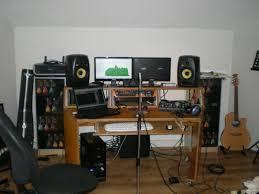 Small Recording Studio Desk Make A Desk For Less Border Hoarder Home Made Idolza