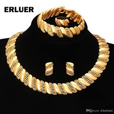 gold choker necklace sets images Fashion african luxury wedding bridal jewelry sets statement jpg