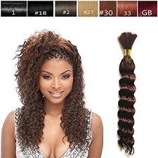 selling deep bulk braiding hair human hair quality top