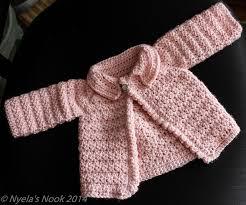 crochet baby sweater pattern crochet patterns galore baby cardigan