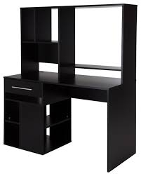 Computer Desk With Hutch Awesome Black Computer Desk With Hutch Fancy Computer Desk With
