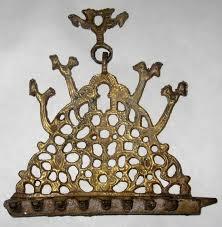 antique menorah antique moroccan judaica hanukkah and 50 similar items