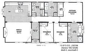 Floor Plans For Mobile Homes by Home Design 4 Bedroom Mobile Floor Plans Stephniepalma Com