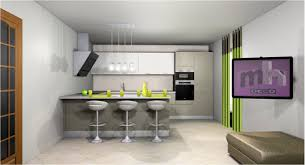 agencement cuisine ouverte idee deco cuisine ouverte sur impressionnant idee amenagement