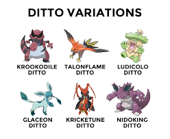 Ditto Memes - ditto variations pokemon variants know your meme