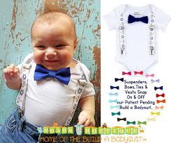 hanukkah tie baby boy hanukkah chanukah bow tie and suspenders noah s
